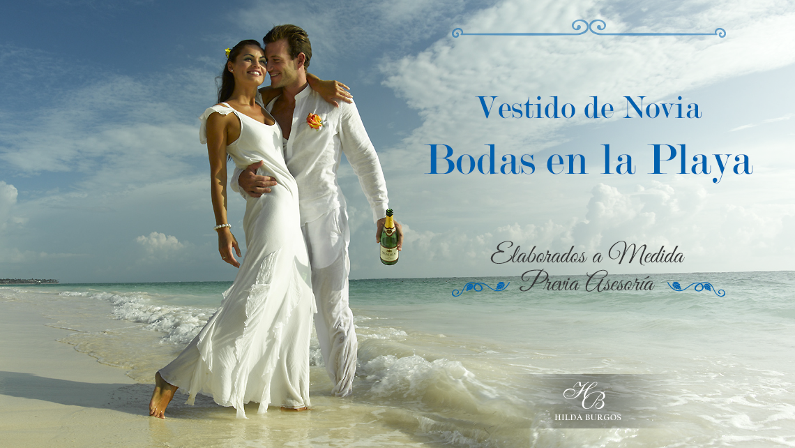 Vestidos boda civil en la playa